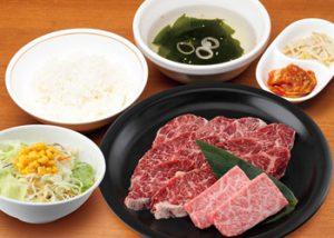焼肉宝島「やわらかハラミ+奥羽牛ランチ」1350円から